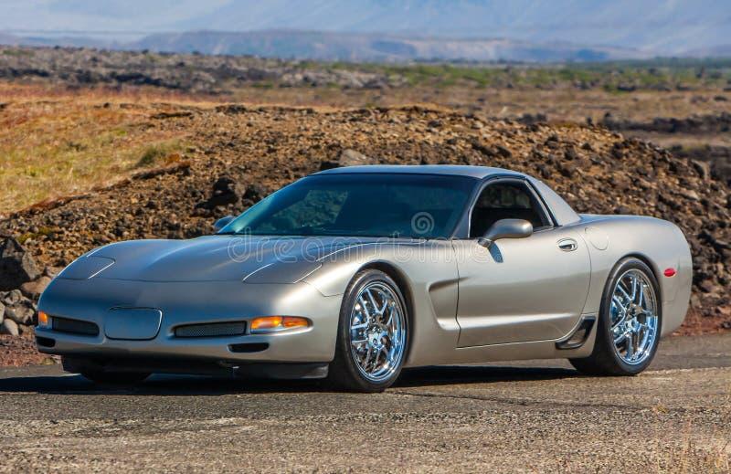 Chevrolet Corvette immagini stock