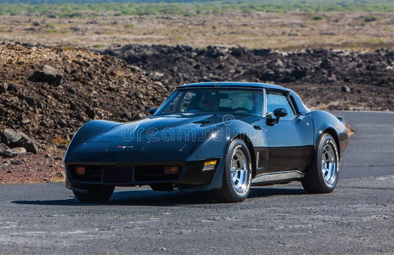 Chevrolet Corvette fotografía de archivo