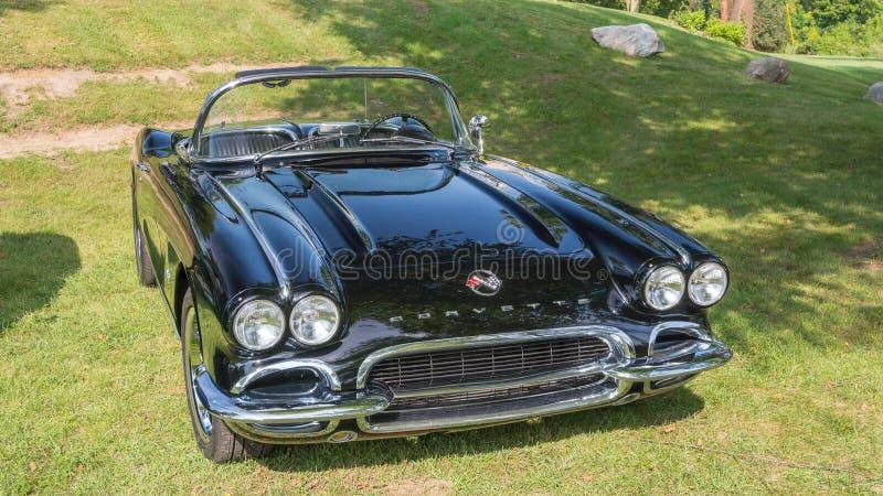 Chevrolet Corvette 1962 lizenzfreies stockbild