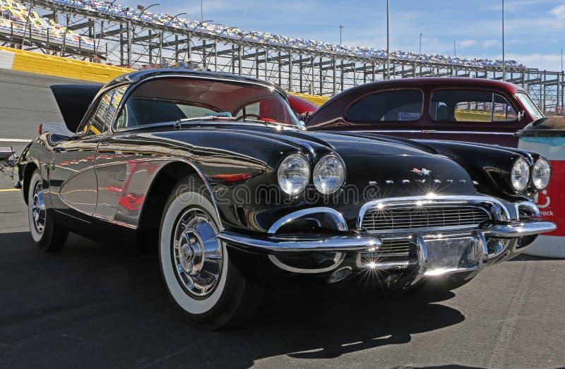 Chevrolet Corvette 1961 lizenzfreie stockfotografie