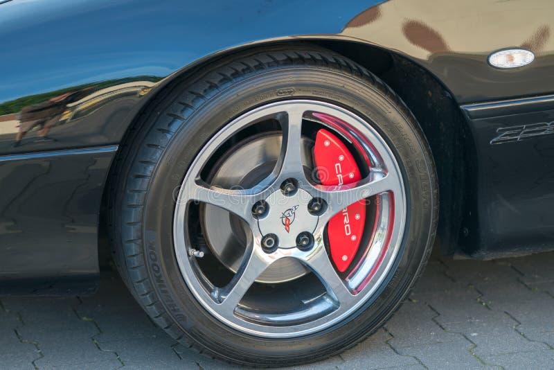 Chevrolet Corvette bil arkivfoton