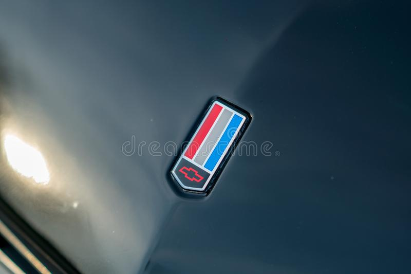 Chevrolet Corvette bil royaltyfri foto