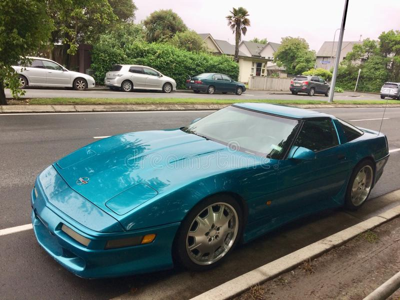 Chevrolet Corvette C4 arkivfoto