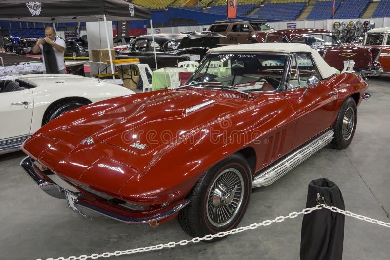Chevrolet Corvette cabriolet royaltyfria foton