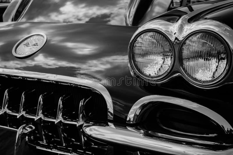 Chevrolet Corvette classique photo libre de droits