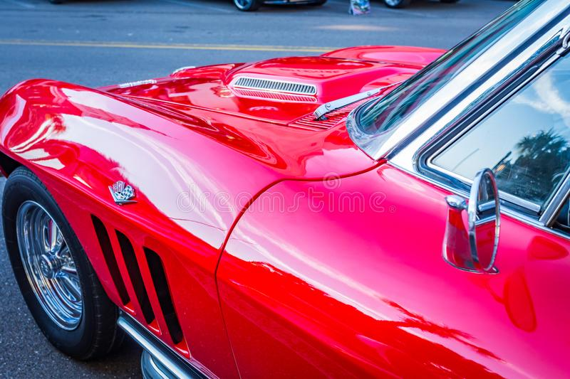 1966 Chevrolet Corvette Sting Ray Editorial Stock Image - Image of
