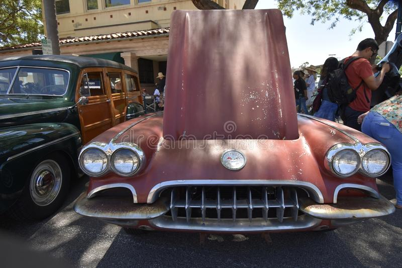 1960 Chevrolet Corvette, 3 fotografia stock