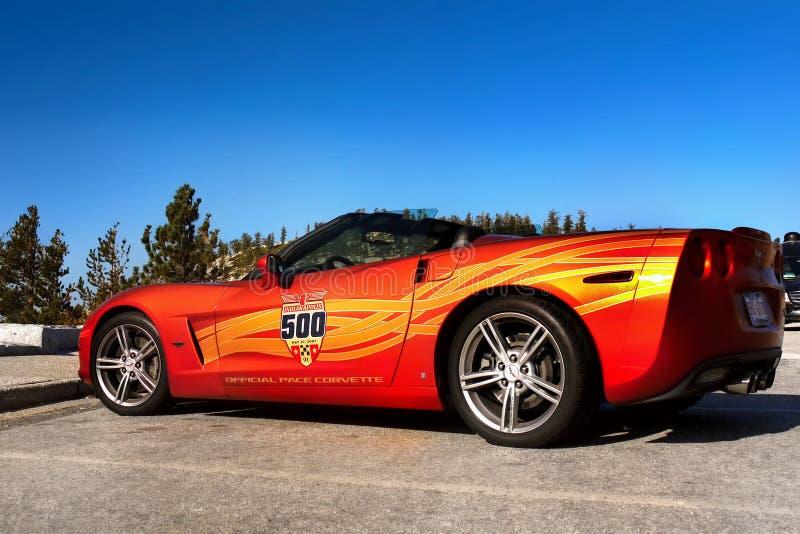 Chevrolet Corvette, Sports Car royalty free stock photo