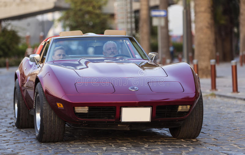 Chevrolet Corvette stock images