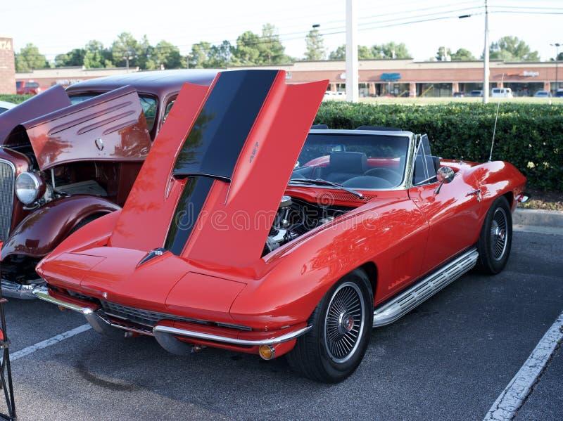 Chevrolet Corvette 1963 Sting Ray lizenzfreies stockfoto