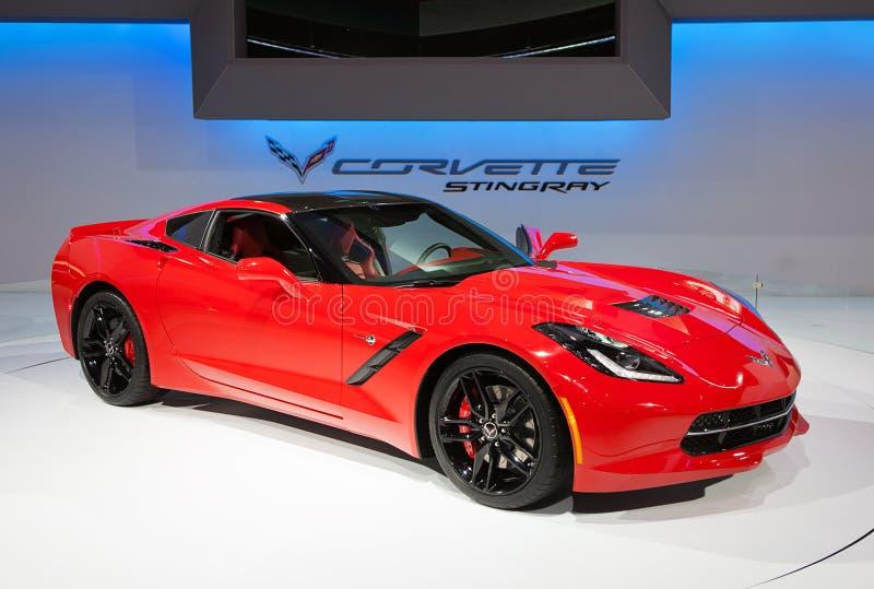 Chevrolet Corvette Stingray 2014 lizenzfreies stockfoto