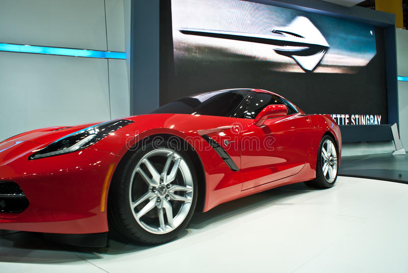 Chevrolet Corvette Stingray royalty free stock image