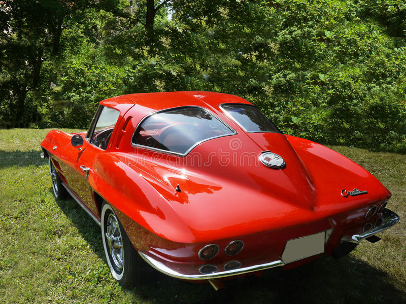 Chevrolet Corvette, Vintage cars royalty free stock image