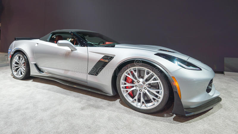 Chevrolet Corvette 2015 Z06 stockbild