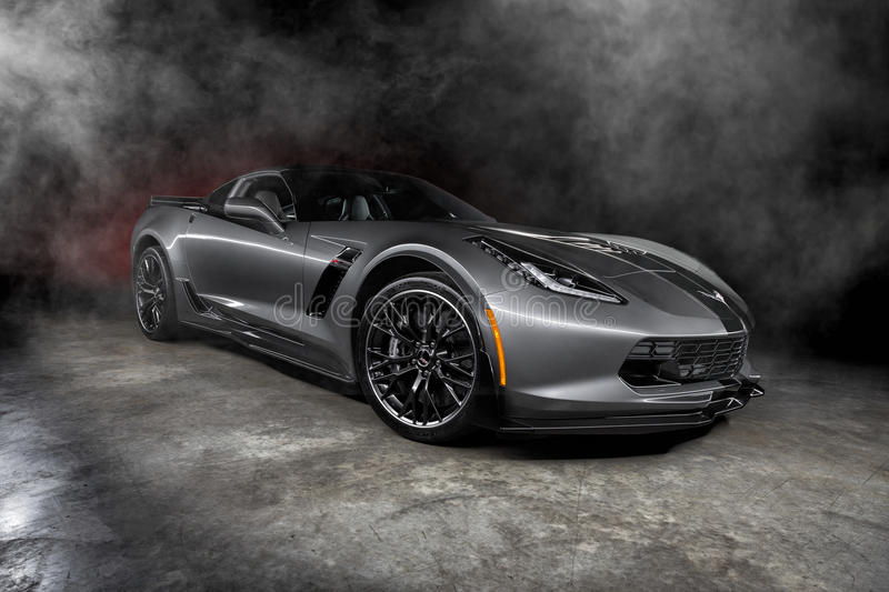 Chevrolet Corvette 2015 Z06 images stock