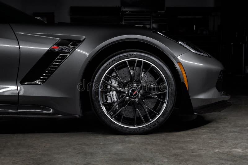 Chevrolet Corvette 2015 Z06 royaltyfri bild