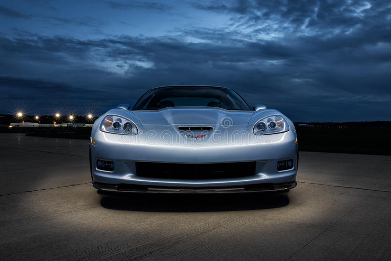 Chevrolet Corvette 2012 ZR1 arkivfoto