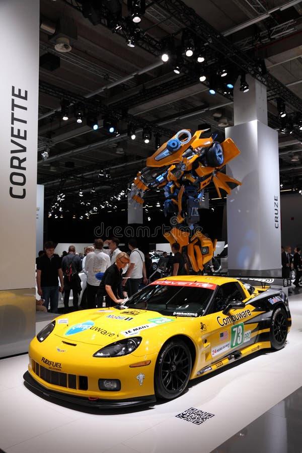 Chevrolet Corvette ZR1 at the 64th IAA stock image