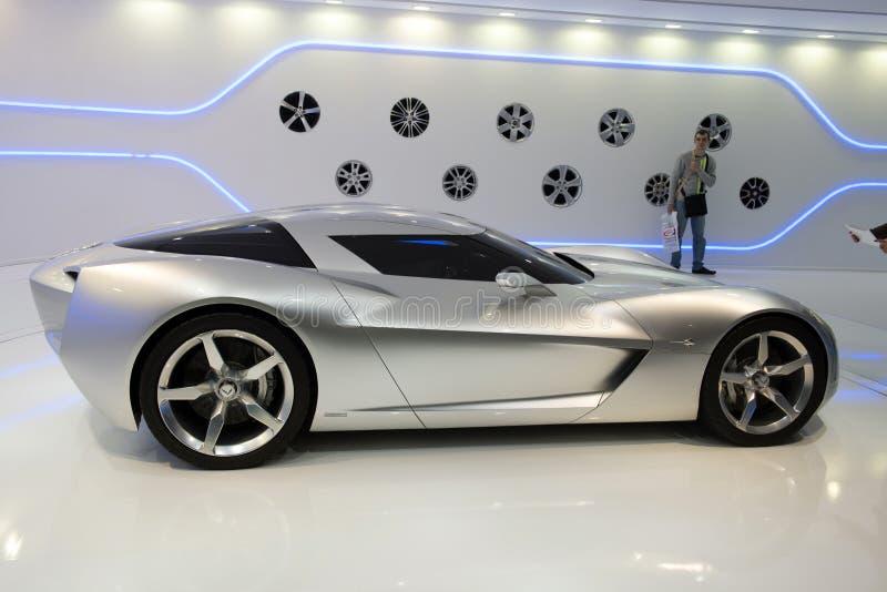 Chevrolet- Corvettekonzept lizenzfreies stockfoto