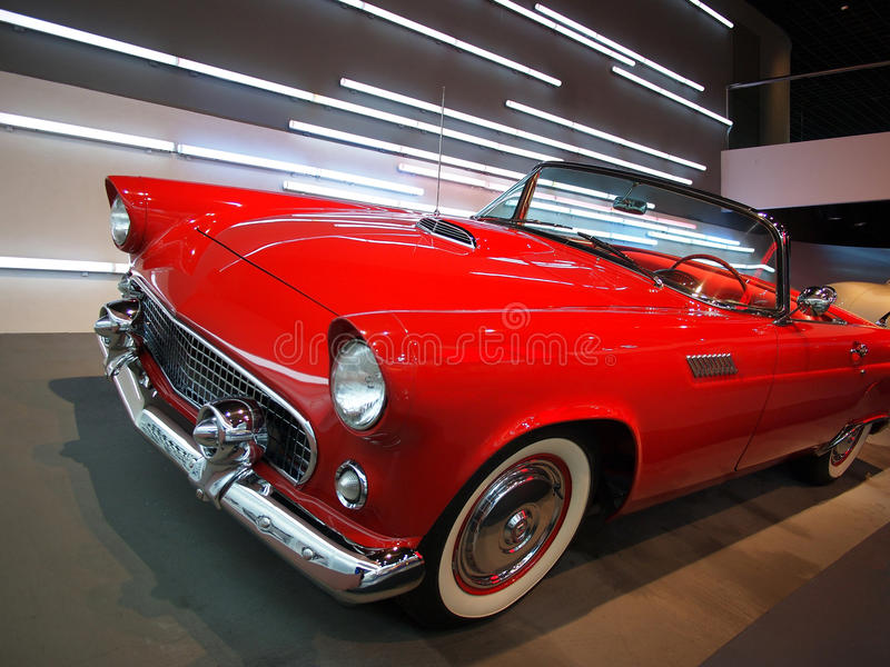 Chevrolet- Corvetterot-Auto stockbilder
