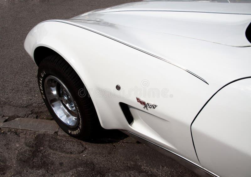 Chevrolet- Corvettestichstrahl lizenzfreie stockfotos