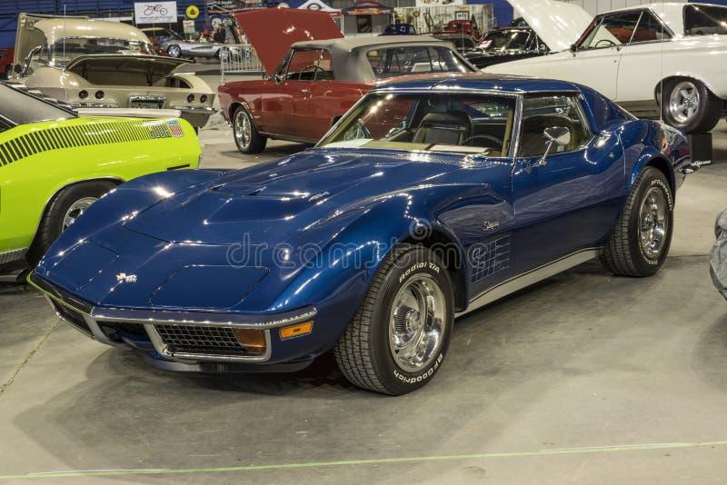 Chevrolet- Corvettestichstrahl stockfotos