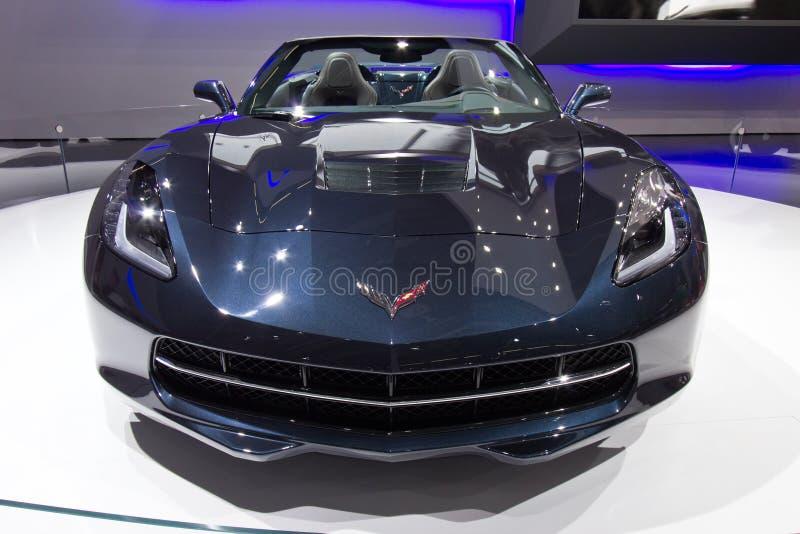 Chevrolet- Corvettestichstrahl lizenzfreie stockbilder