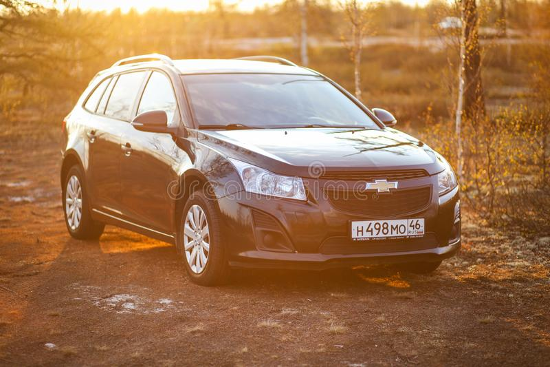 Chevrolet Cruze royalty-vrije stock afbeelding
