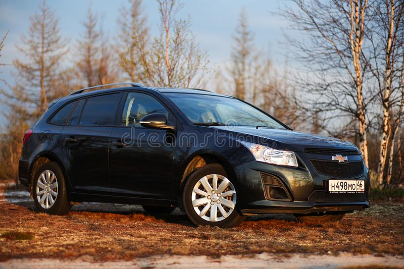 Chevrolet Cruze royalty-vrije stock fotografie
