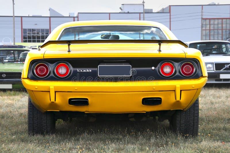 Chevrolet Cuda royalty-vrije stock foto's