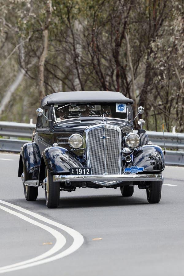1934 Chevrolet DA mistrza terenówka fotografia stock