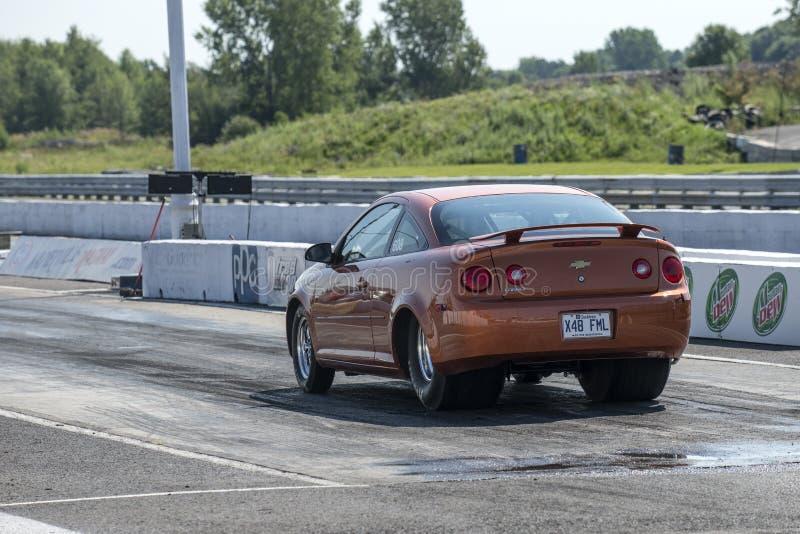 Chevrolet-de auto van de kobaltbelemmering stock afbeeldingen
