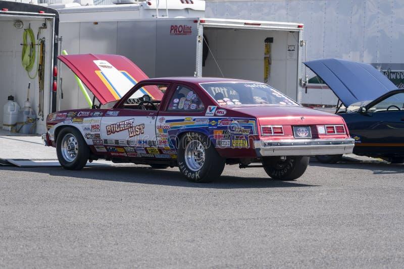 Chevrolet-de auto van de novabelemmering royalty-vrije stock fotografie