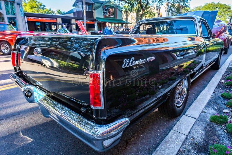Chevrolet-EL 1965 Camino lizenzfreies stockbild