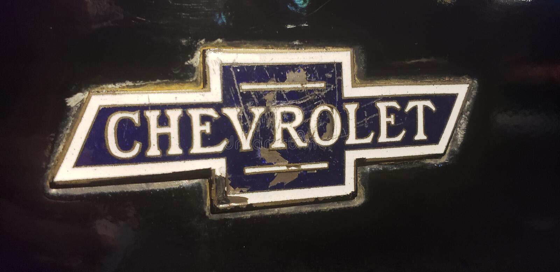 Chevrolet-embleem stock fotografie