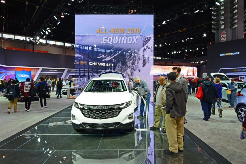 2019 Chevrolet-'equinox' royalty-vrije stock afbeeldingen