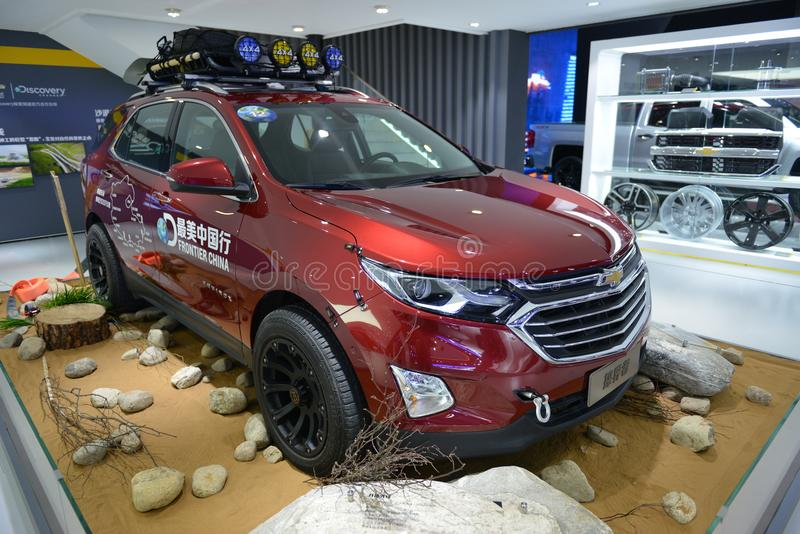 Chevrolet-'equinox' SUV royalty-vrije stock foto
