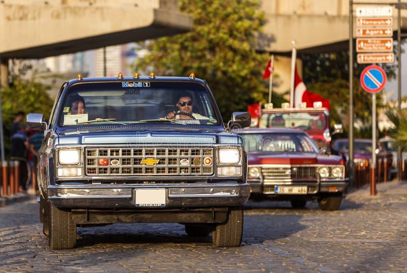 Chevrolet furgonetka obrazy royalty free
