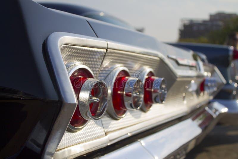 Chevrolet-het licht van de Impalastaart royalty-vrije stock afbeeldingen
