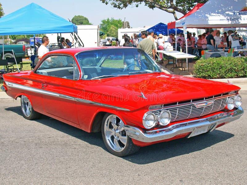 Chevrolet Impala 1961 lizenzfreie stockfotografie