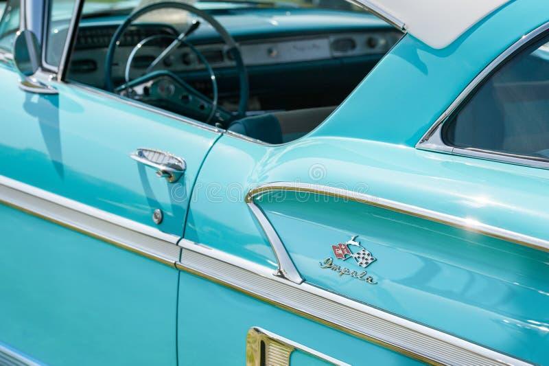 Chevrolet Impala vehicle panel stock photo