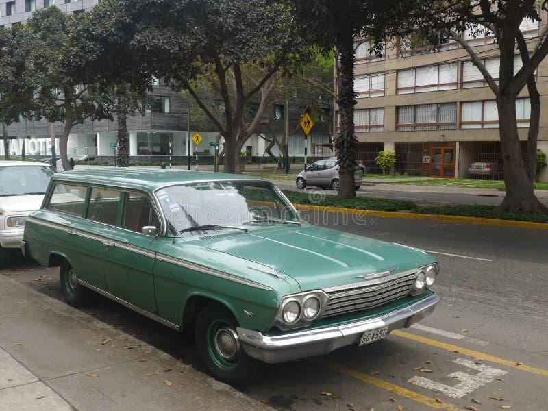 Chevrolet-Impalastationcar stock foto