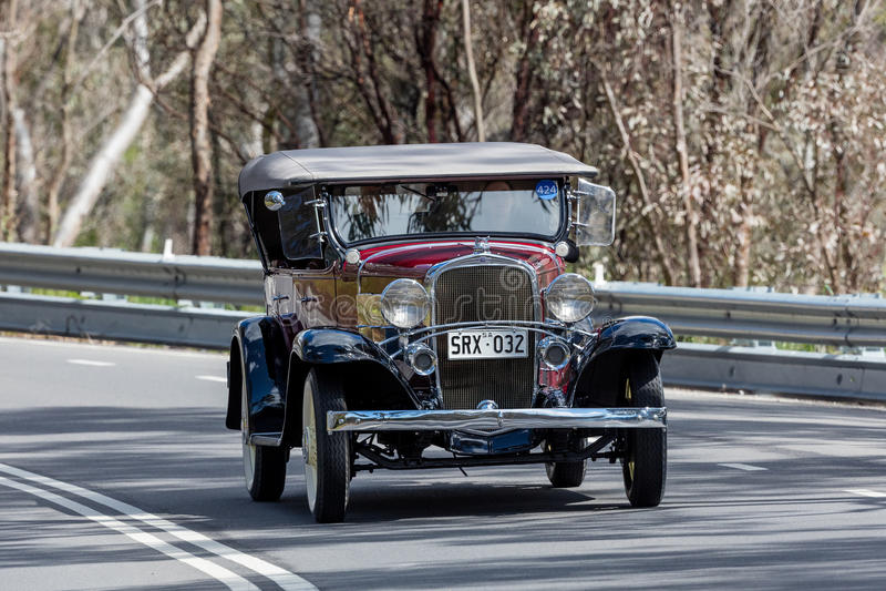 1932 Chevrolet konfederata sportów terenówka zdjęcia royalty free