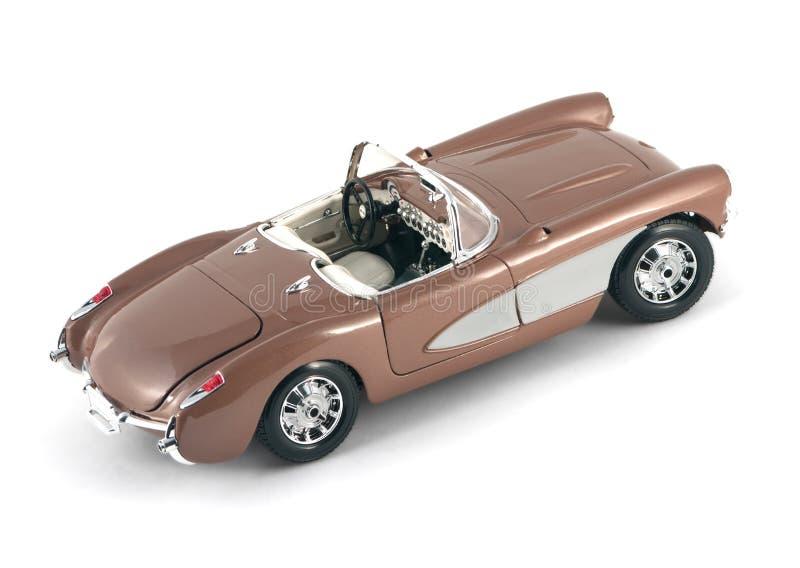 Chevrolet-Korvet 1957 stock afbeeldingen