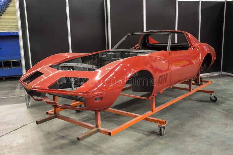 Chevrolet korwety ciało zdjęcie royalty free