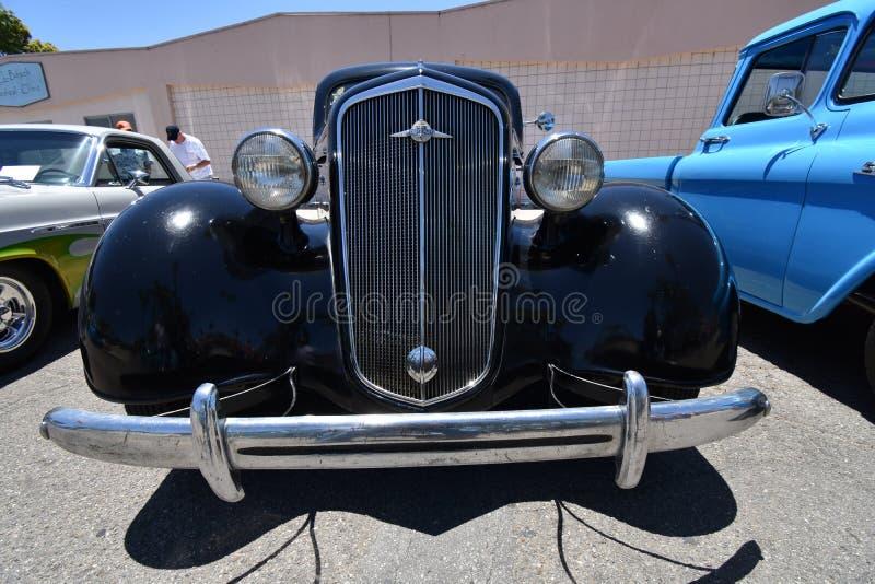 1935 Chevrolet Luksusowy w czerni, 1 fotografia royalty free