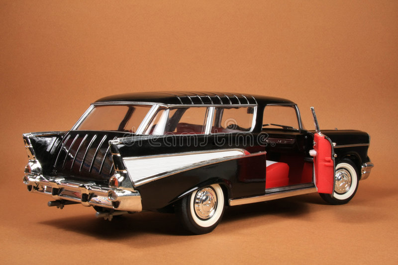 Chevrolet Nomad 1957 stock photos