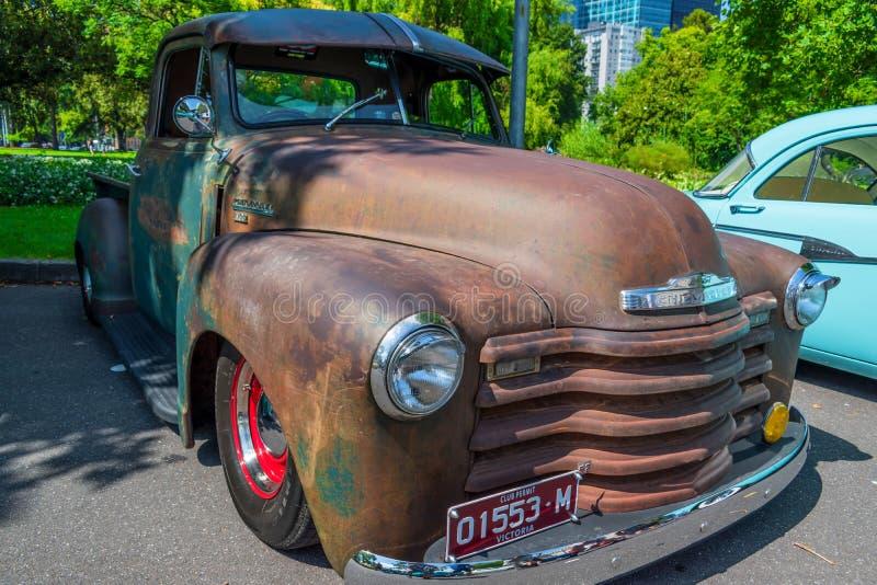 Chevrolet non dipinto fotografie stock