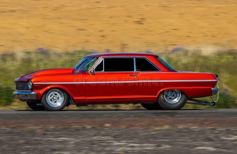 Chevrolet nova 1965 fotografering för bildbyråer