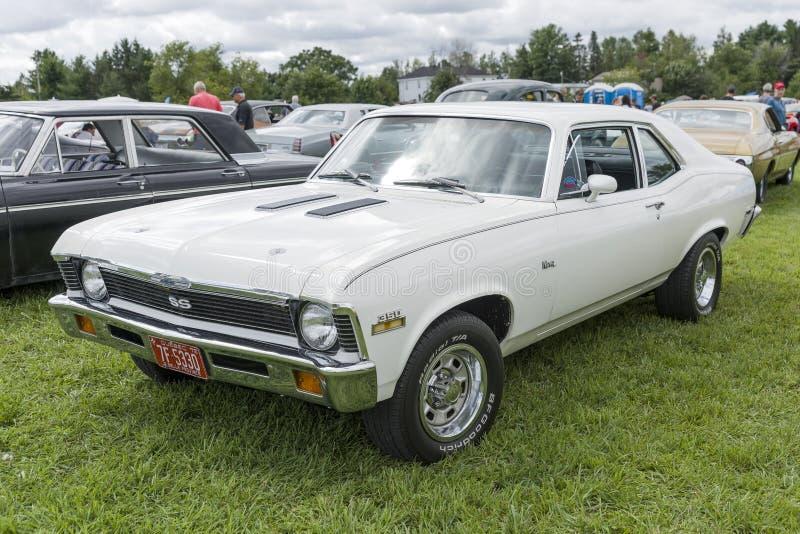 Chevrolet nova royalty free stock image